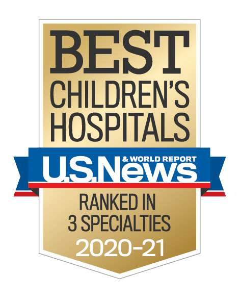 U.S. News Best Children's Hospital Badge