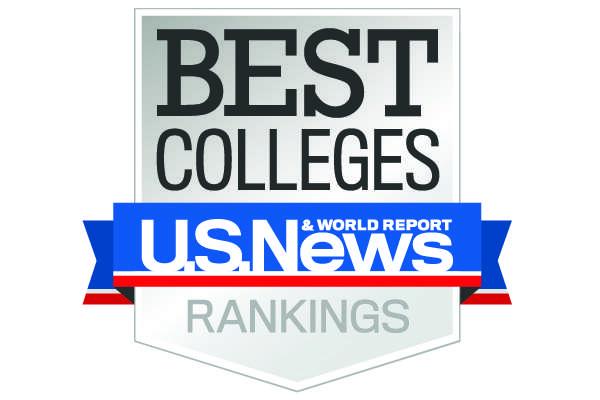 U.S. News Best College Ranking Badge